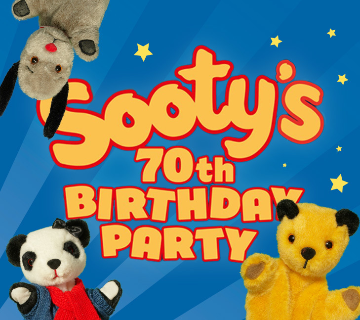 Sooty 70 Birthday Party